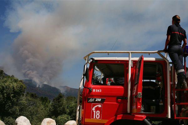 Les pompiers ont été alertés durant la nuit de vendredi à samedi.