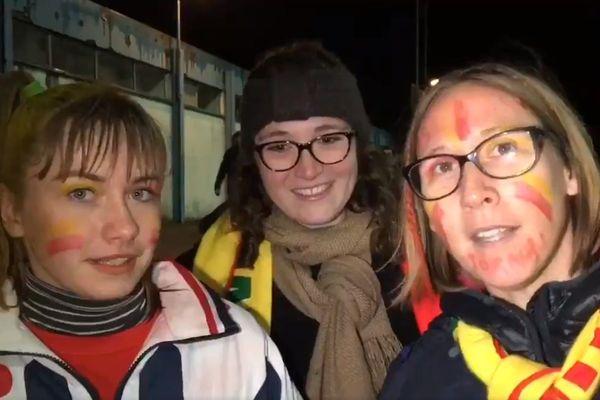Les supporters de Vitré ont salué le magnifique parcours du petit club breton en Coupe de France.
