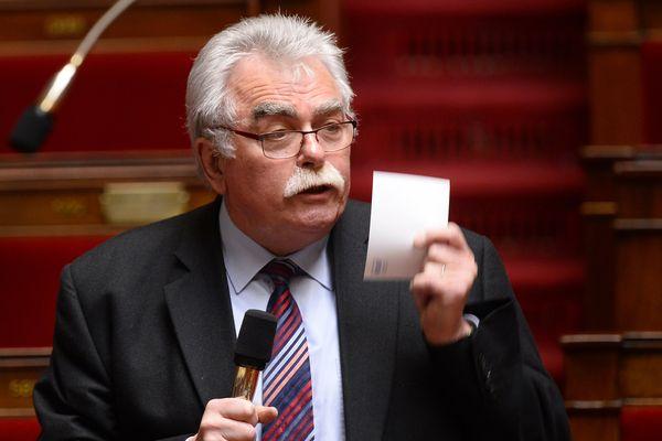 André Chassaigne, chef de file des députés communistes à l'Assemblée Nationale et député du Puy-de-Dôme, ne cache pas son opposition à la réforme du baccalauréat souhaitée par le gouvernement.