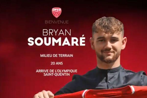 Bryan Soumaré (20 ans) effectuera ses débuts professionnels sous les couleurs de Dijon.
