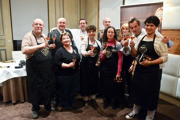 """Les finalistes du concours """"Champagne en cuisine !"""""""
