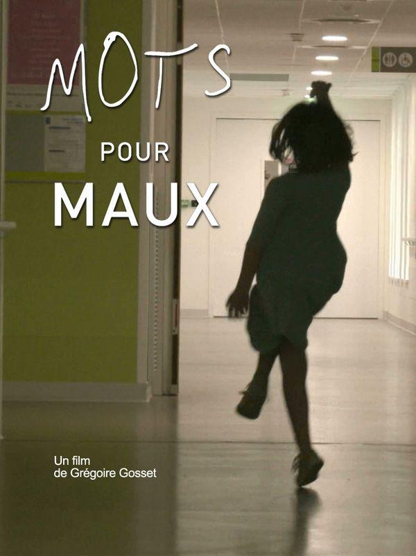 """Affiche du documentaire """"Mots pour maux""""."""