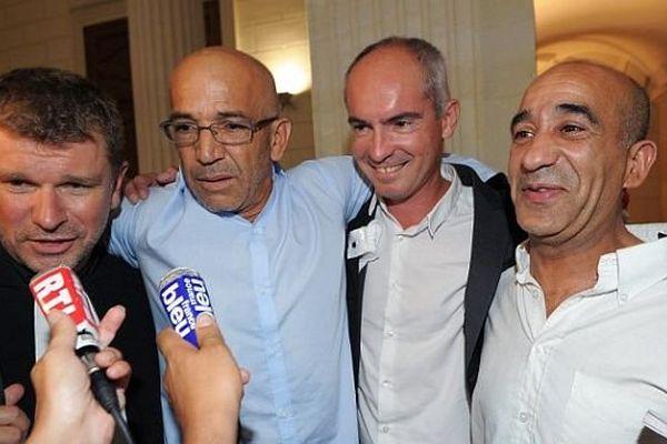 Nîmes - Abdelkader Azzimani et Abdelrrahim El Jabri, avec leurs avocats, sont acquittés - 3 juillet 2014 à 20h45