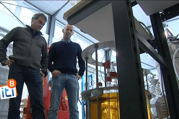 Au Rheu, les laboratoires de l'INRA cherchent de nouvelles saveurs pour le cidre.