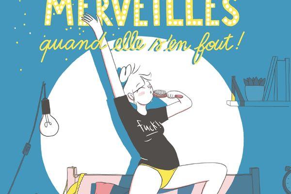 """La couverture de l'album """"Alice fait des merveilles quand elle s'en fout"""""""