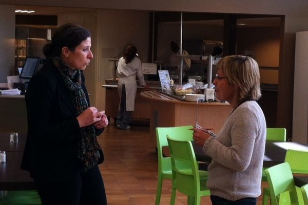 """Sandrine Séon, directrice du restaurant """"Saveurs et Talents"""" à St Jean-de-Braye (45)"""