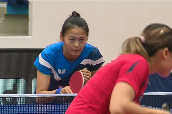 Nouvelle recrue 2018, la Canadienne Mo Zhang faisait sa première apparition au sein de l'équipe picarde