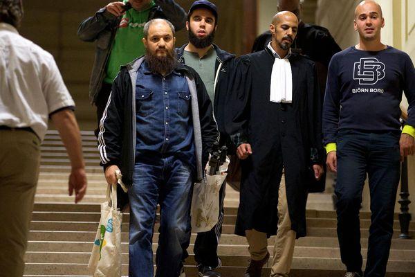 Khalid Bouloudo, au palais de justice de Bruxelles en septembre 2016.