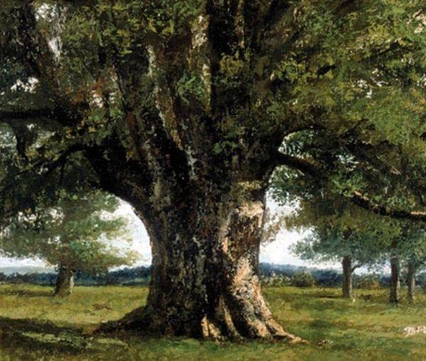 Le Chêne de Flagey, de Gustave Courbet