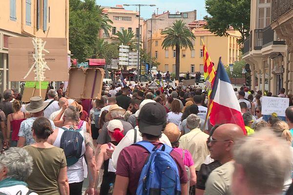 Les manifestants se sont retrouvés place de Catalogne à 14 heures.