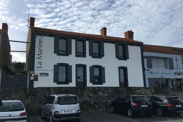 La Marine, le restaurant doublement étoilé d'Alexandre Couillon sur le port de l'Herbaudière - île de Noirmoutier (Vendée)