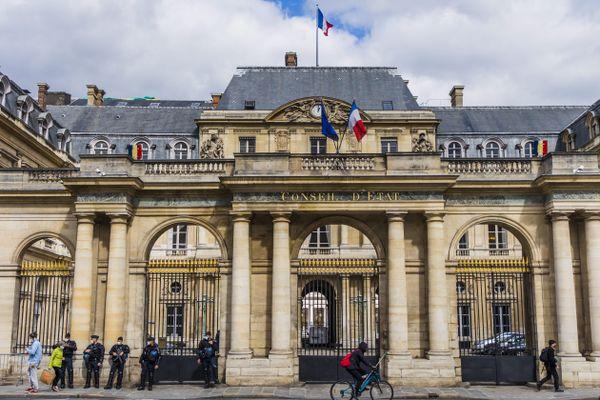 Le conseil d'Etat à Paris.