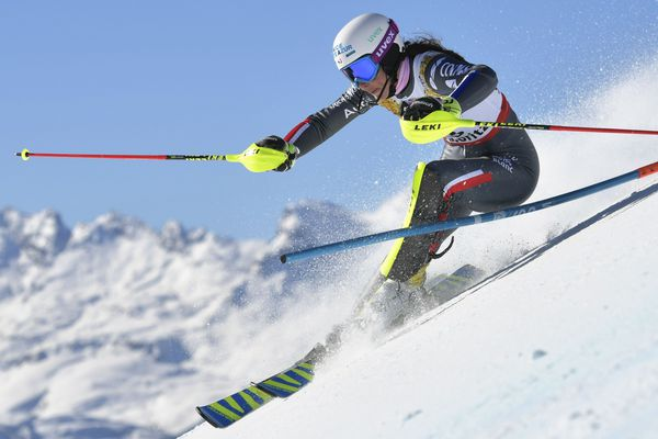 La Niçoise Nastasia Noens, aux championnats du monde, en février.