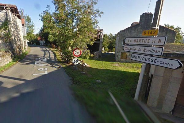 Le village de Montoussé (Hautes-Pyrénées)