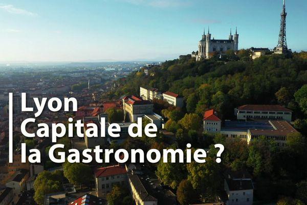 """""""Lyon, capitale de la gastronomie"""", un magazine proposé par Loïc Ballet, diffusé le samedi 12 décembre à 15h15 sur France 3 Auvergne-Rhône-Alpes et disponible ici en replay."""