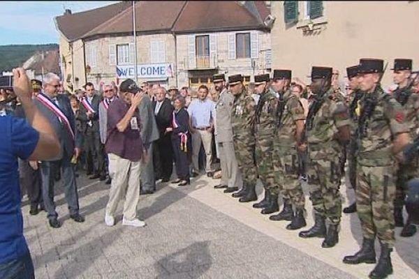 En hommage à la Libération d'Arbois le 4 septembre 1944