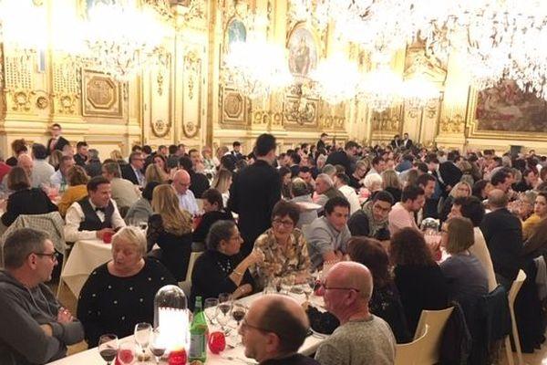 """Biennale internationale du goût: la """"BIG"""" soirée à l'Hôtel de Ville de Lyon"""