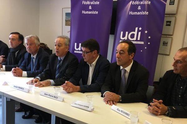 Montpellier - l'UDI de l'Hérault appelle à soutenir Juppé à la primaire de la droite et du centre - 17 octobre 2016.