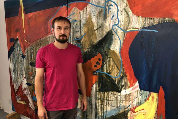Près de deux cent artistes de Nancy et des environs ont ouvert les portes de leurs ateliers les 25 et 26 septembre 2021. Parmi eux, le plasticien Matthieu Exposito, installé à Toul.