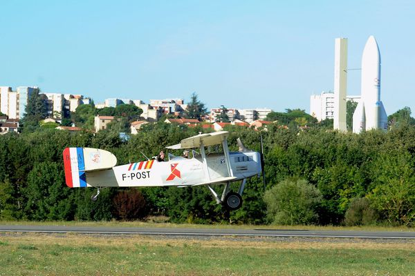 Illustration : l'aérodrome Toulouse-Balma-Lasbordes