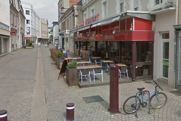 C'est dans cette rue de Châteauroux que l'homme s'est donné la mort, jeudi 9 mai 2019.