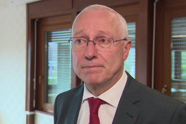 """""""La situation sanitaire continue à se dégrader dans des conditions extrêmement préoccupantes"""" a déclaré Pierre Ory lors d'une audioconférence mardi 27 octobre."""