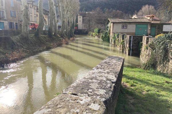 Crue dans le Tarn-et-Garonne ce mercredi 3 février.