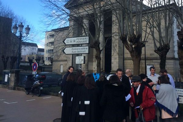 Justice morte au Tribunal de Quimper