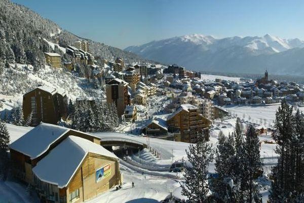 La station de ski des Angles (Pyrénées-Orientales)