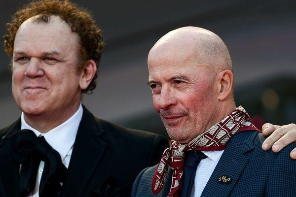 """Jacques Audiard et l'acteur John C Reilly au festival de Venise; Ils seront à Deauville ce mardi pour présenter le western """"Les frères Sisters"""""""