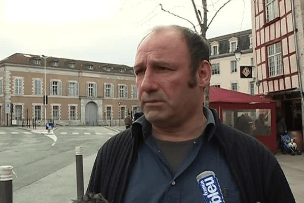 Jean-Noël Etcheverry, militant du mouvement altermondialiste Bizi!