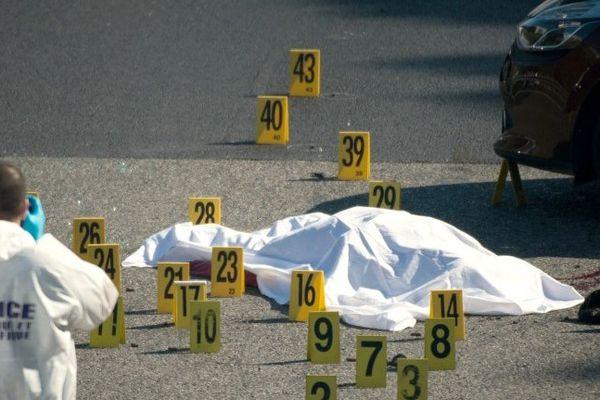 L'homme a été tué vers 16h alors qu'il circulait en voiture sur l'A7.