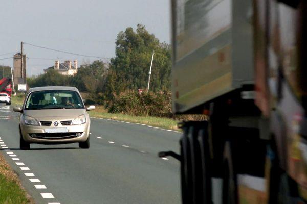 Une 2 x 2 voies pourrait relier Fontenay-le-Comte, en Vendée; à Rochefort, en Charente-Maritime