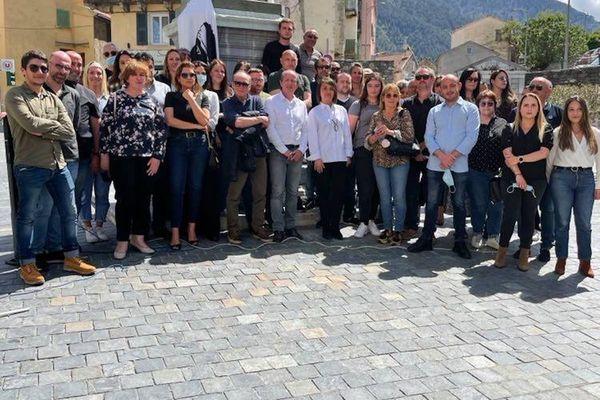 Paul-Félix Benedetti a dévoilé, ce dimanche 9 mai à Corte, la liste du parti Core in Fronte pour les élections territoriales de juin prochain.
