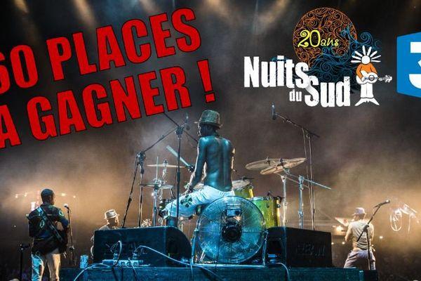 Jeu Festival des Nuits du Sud 2017