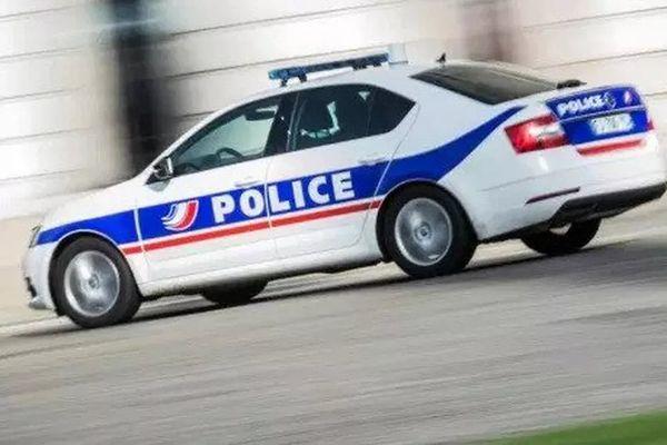 Une voiture de police. Photo d'illustration.