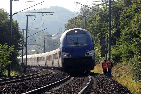 La circulation des trains entre Lyon et Genève est interrompue dans les 2 sens.