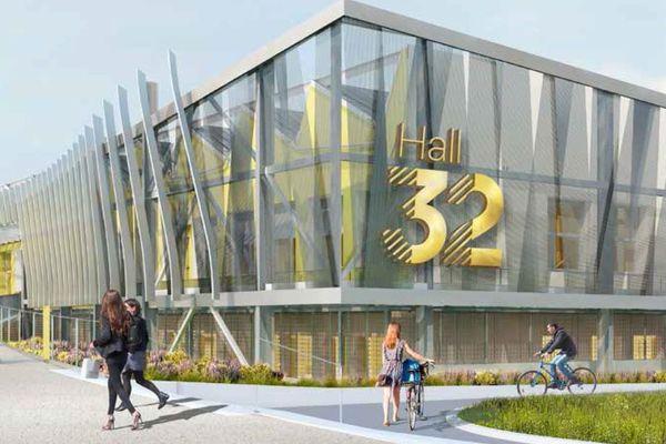 Hall 32, le centre des métiers de l'industrie ouvrira ses portes à la rentrée 2019-2020, à Clermont-Ferrand.