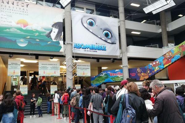 C'est parti pour le 43e festival international du film d'animation d'Annecy !