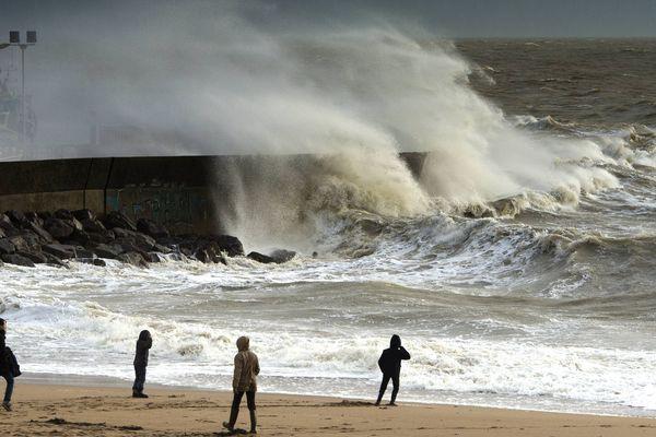 Vent fort en Normandie pour ce dimanche et le début de la semaine prochaine...