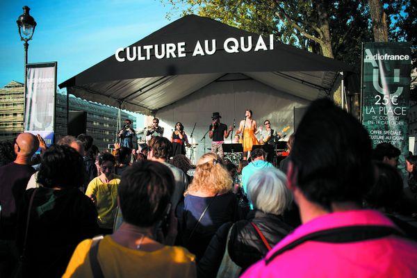 La manifestation l'an dernier au Quai de Loire (19ème)