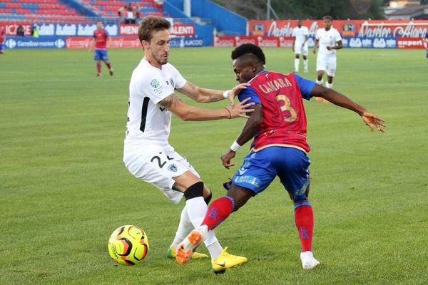 Ligue 2 - 1ere journée GFCA-PARIS FC AJACCIO (1-1)