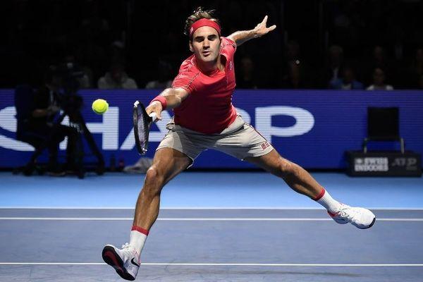 Roger Federer le 27 octobre dernier au tournoi de Basel.