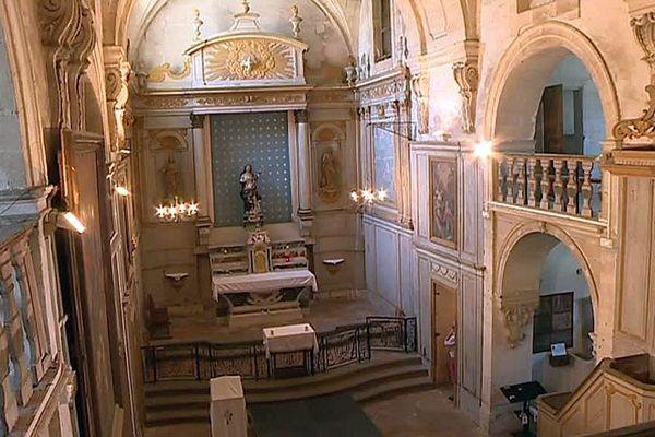 Villeneuve-lès-Avignon (Gard) - un financement participatif pour sauver la chapelle des pénitents gris - septembre 2018.