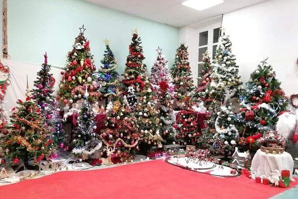 Breil-sur-Roya, lors du marché de Noël organisé le 12 décembre la décoration en mairie.