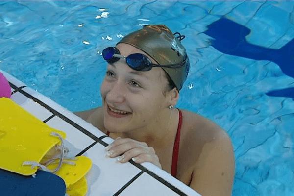 La nageuse limougeaude Laura Paquit vice-championne de France du 200 mètres brasse en petit bassin