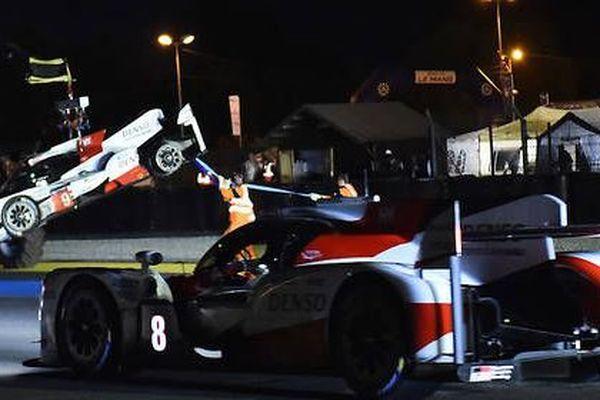 Série malheureuse pour les Toyota au Mans.