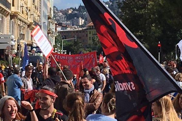 Manifestation des fonctionnaires le 10 octobre 2017 à Nice