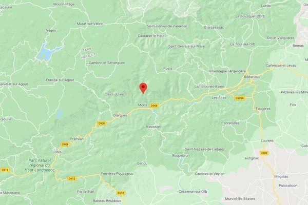 L'accident s'est produit dans le gouffre du Cerisier, situé sur la commune de Rosis.