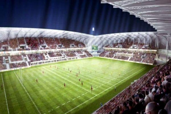 Les travaux du stade de Beaublanc devraient être terminés début 2014.